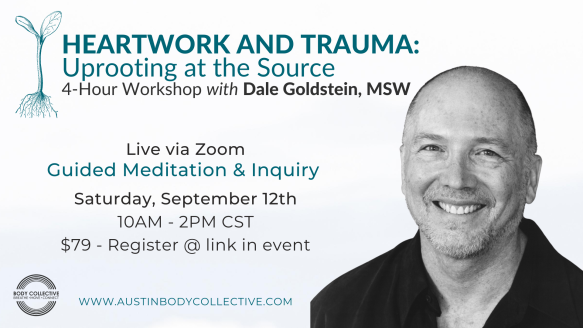 Heartwork & Trauma, 4-hour workshop